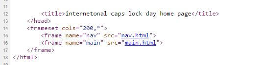 CAPSLOCK DAY SITE SCREENGRAB