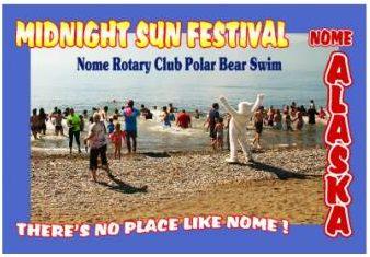 polar bear swim nome