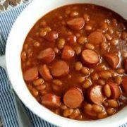 beans 'n' franks day