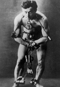 national magic day houdini in chains