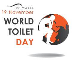 world toilet day 2015 thinker logo