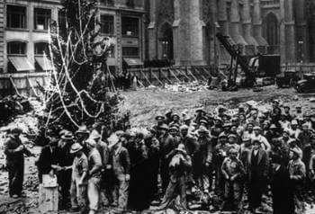 rockefeller center christmas tree lighting history