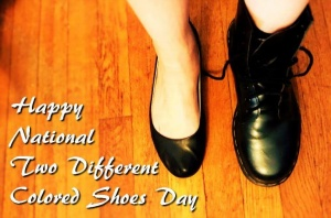 national two different colored shoes day