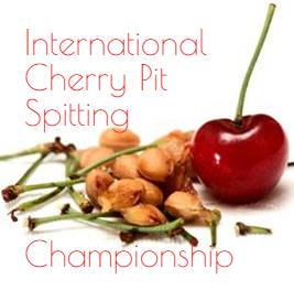 international cherry pit spitting festival