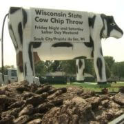 wisconsin state cow chip throw