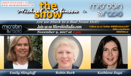 The Michael S Robinson Show banner