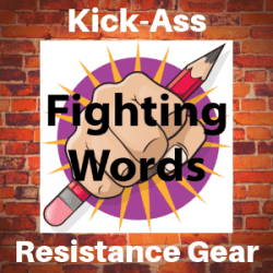 Fighting Words Designs store banner